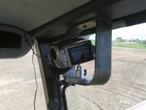 Kamera w ciągniku