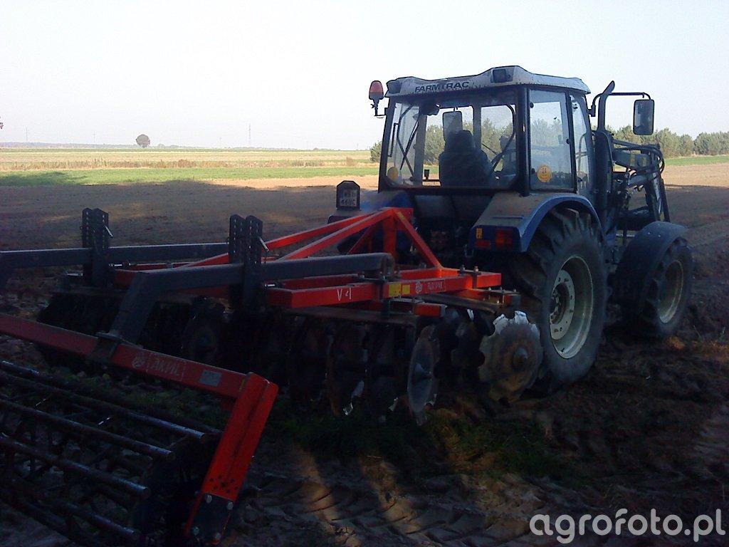 Farmtrac 685 DT & Metal Fach & Akpil