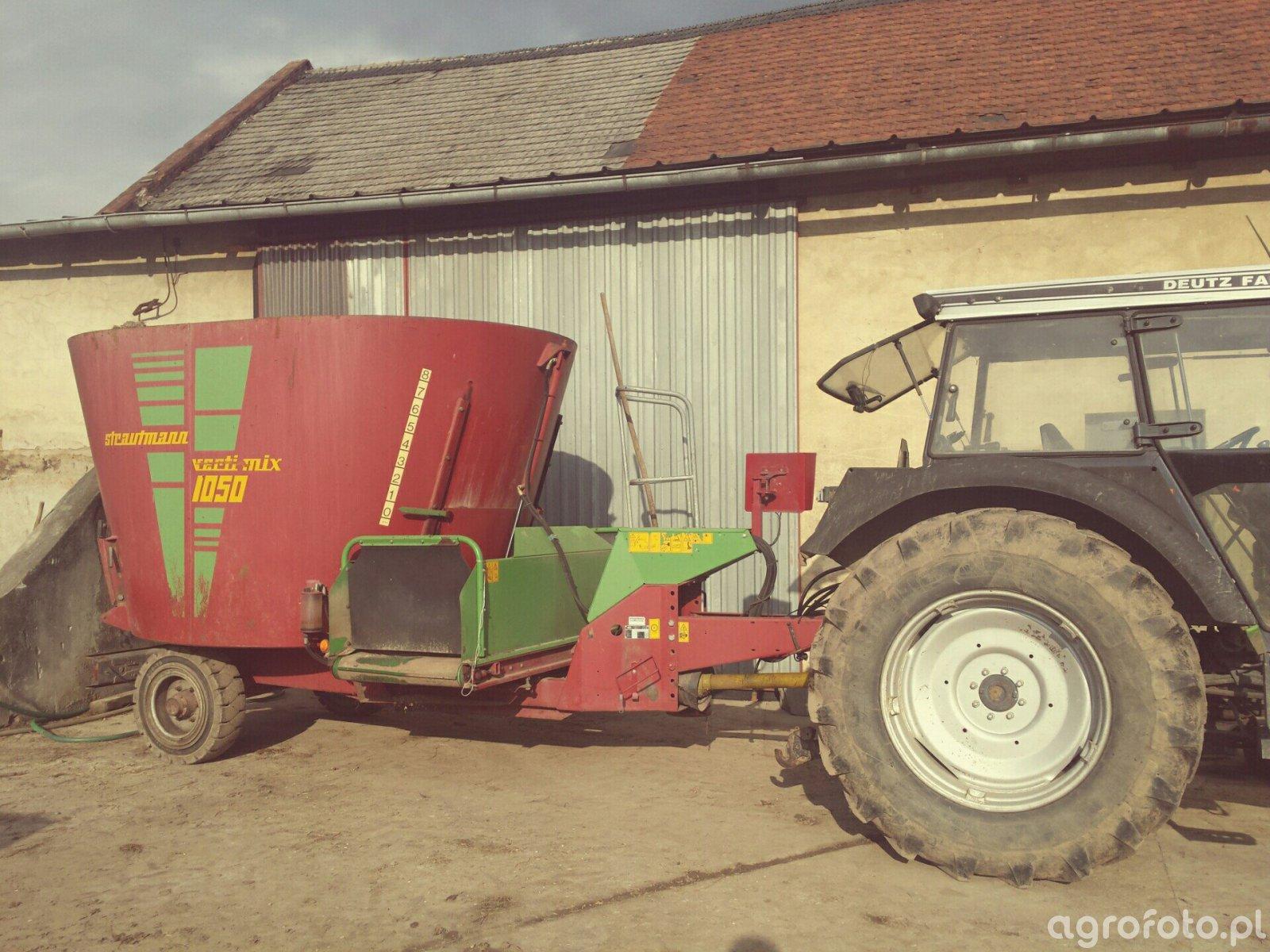 Strautmann verti mix 1050 \u0026 Deutz Fahr