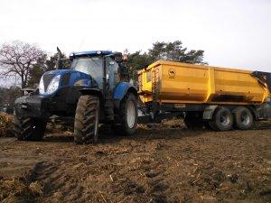 New Holland T6050 & Wielton 18t