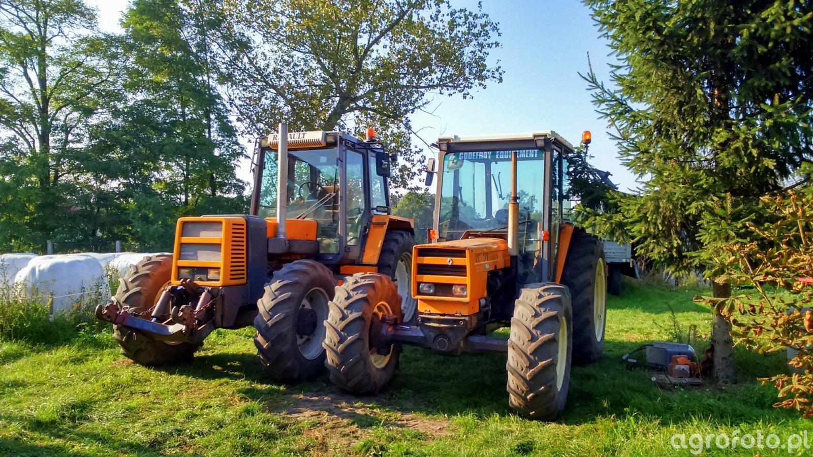 Renault 113.14 & Renault 851.4s