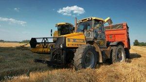 JCB Fastrac 1135 + Demarest & New Holland TC5060