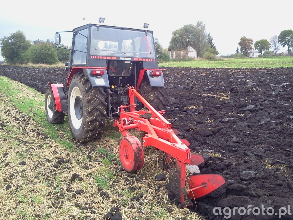 Zetor 7745 Turbo + Awemak