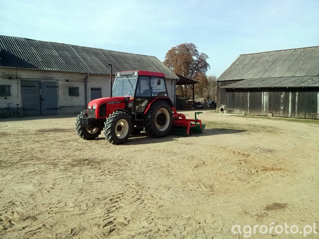 Zetor 7340 + Agromasz AS30