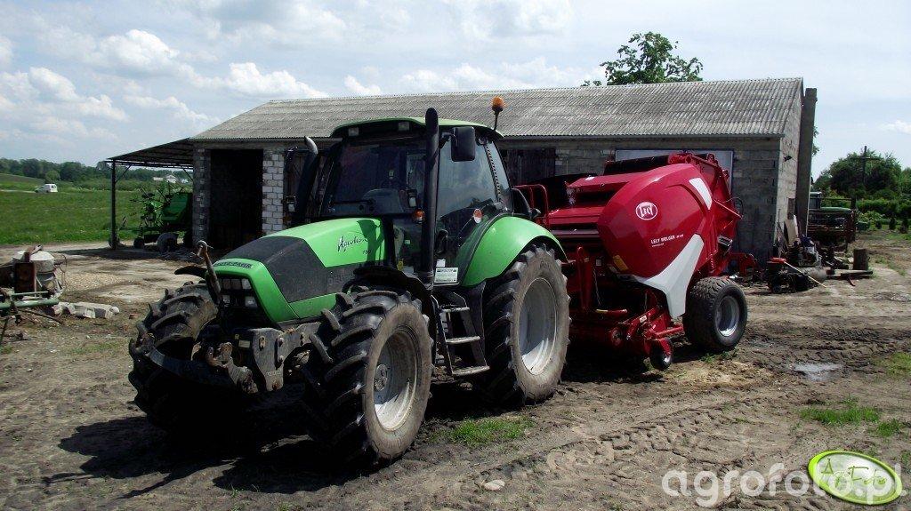 Deutz Fahr Agrotron 150 + Lely Welger RP 445
