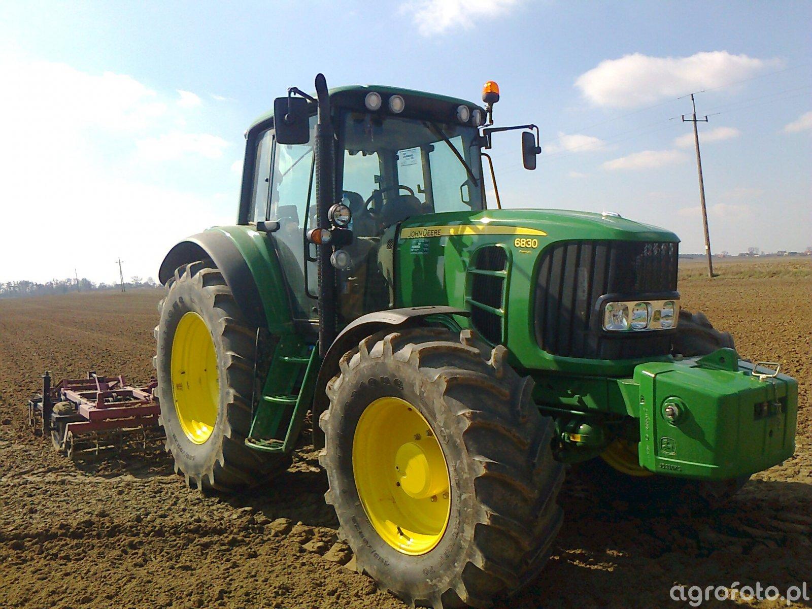 John Deere 6830 Premium + Agro Factory LECH