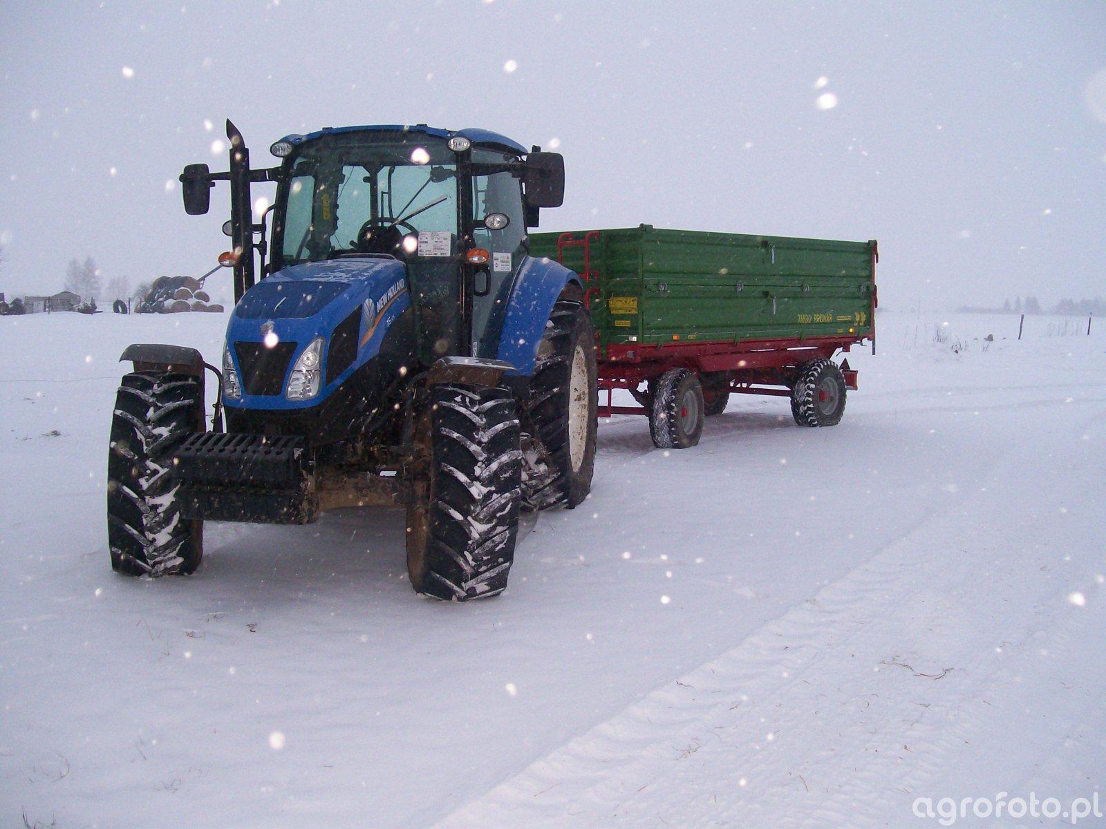 New holland t5.105 & Pronar T653/2