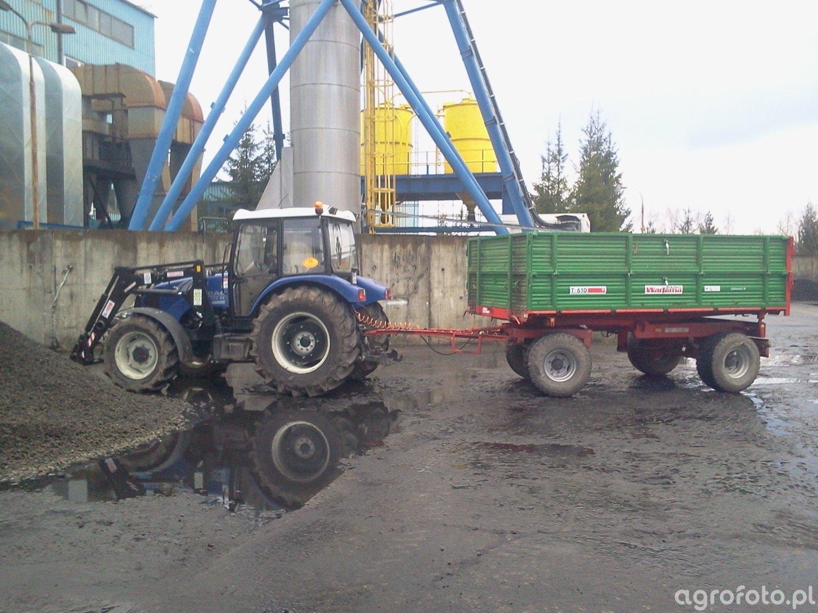 Farmtrac 685 DT + Warfama 6 t