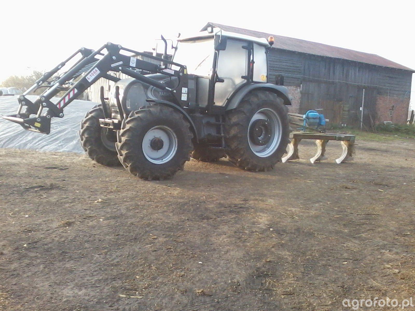 Farmtrac Mazur 7110DT + Pług zagonowy
