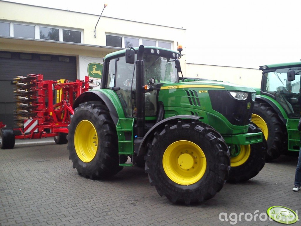 John Deere 6170M + Pottinger