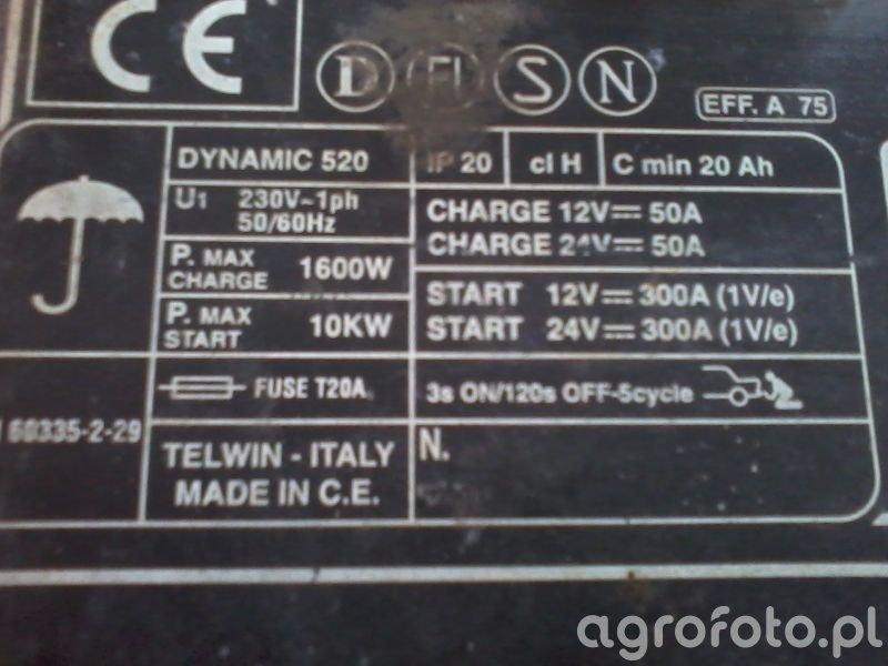 Prostownik Dynamic 520