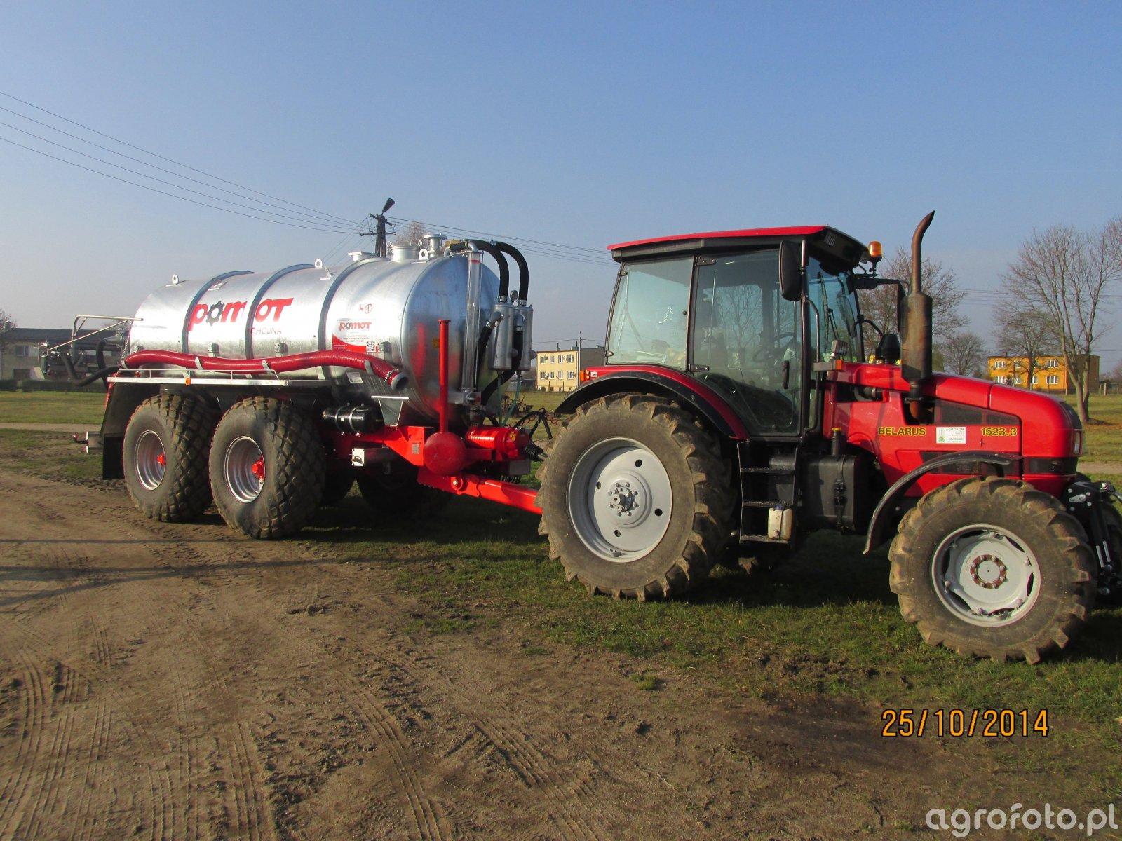 Belarus 1523.3+pomot T-546/1