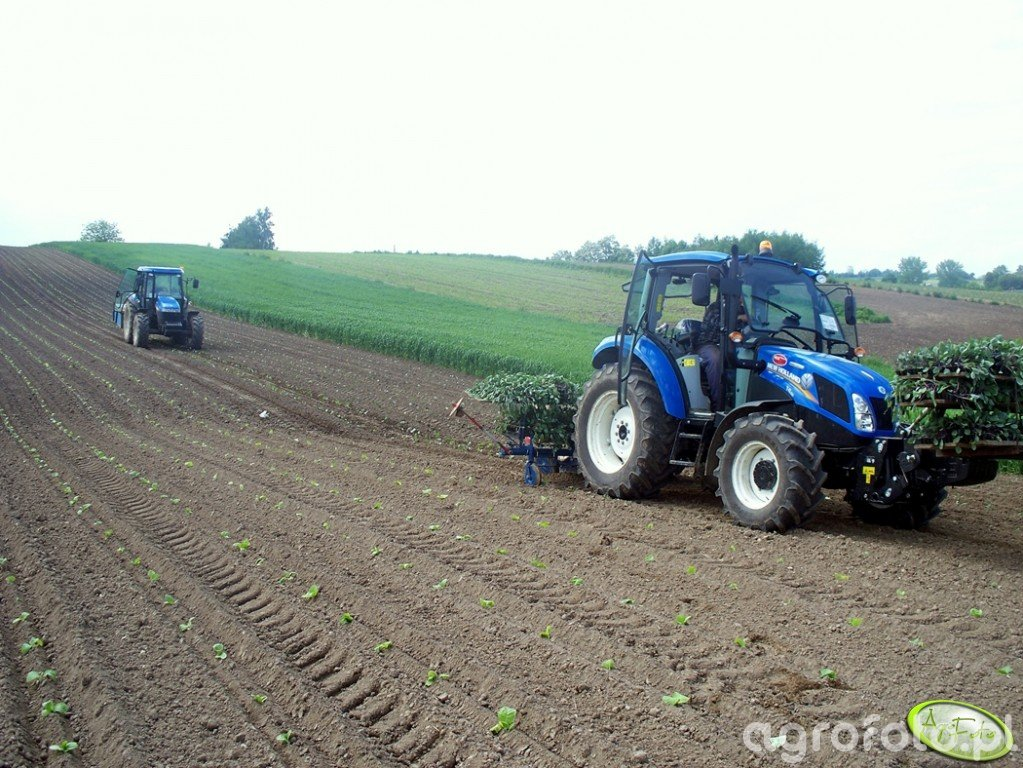 New Holland T4.65 Power Star + New Holland TD5030