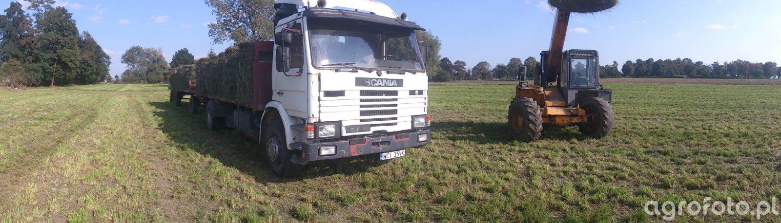 JCB i Scania
