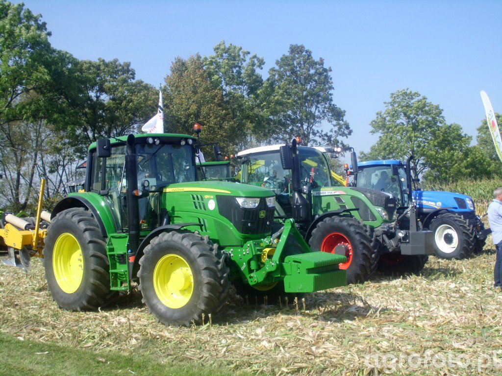 John Deere 6150M, Fendt 714 Vario & New Holland T6.175