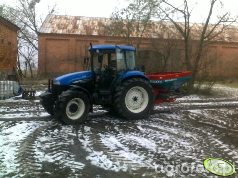New Holland TD75D + Sulky dpx prima 1500
