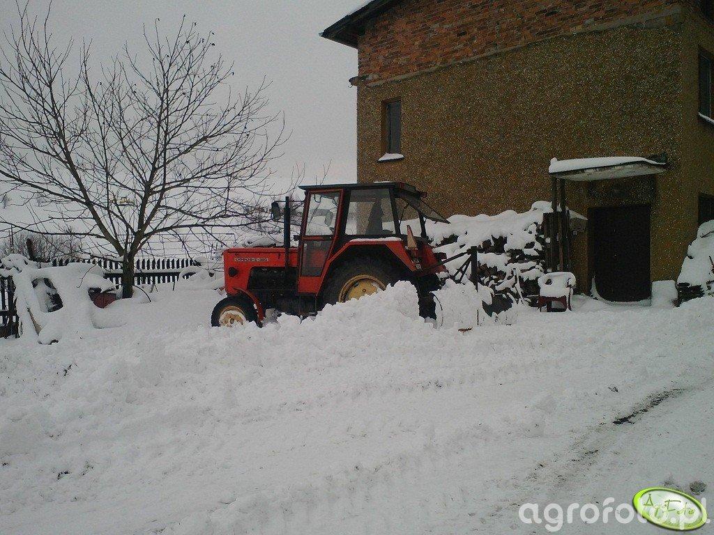 Ursus C-360 + pług do sniegu