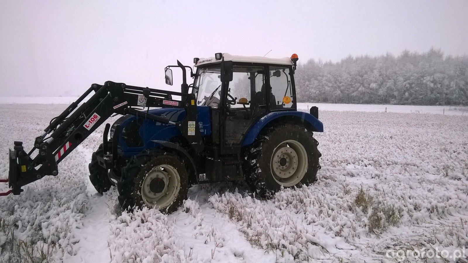 Farmtrac 685DT + Ł-106