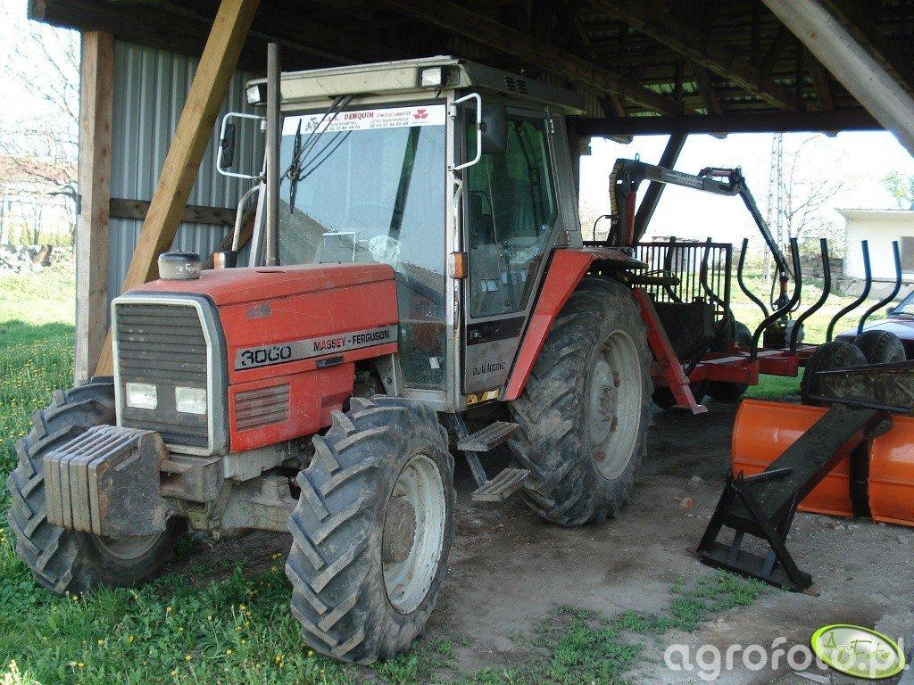 Massey Ferguson 3060 & HDS do drewna