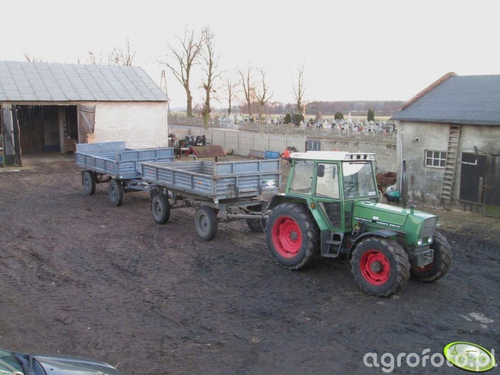 Fendt Farmer 306 LSA + Autosan D-47 i Sanok D-50