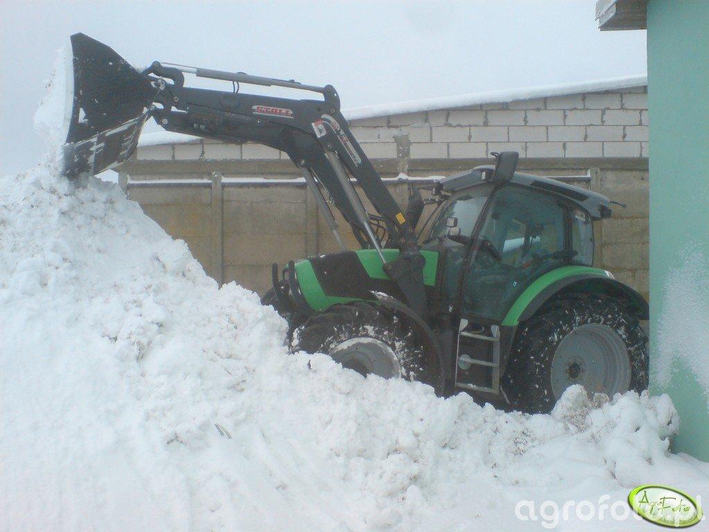 Deutz-Fahr Agrotron K420 & Stoll