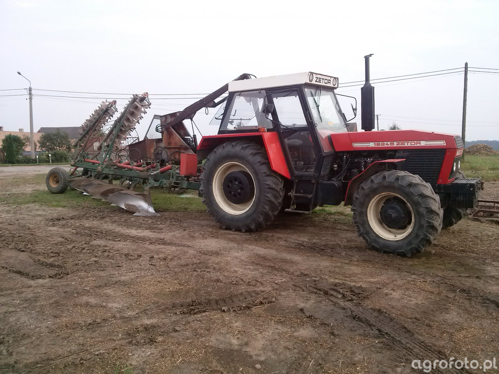 Zetor 16245 Turbo & PHX 6