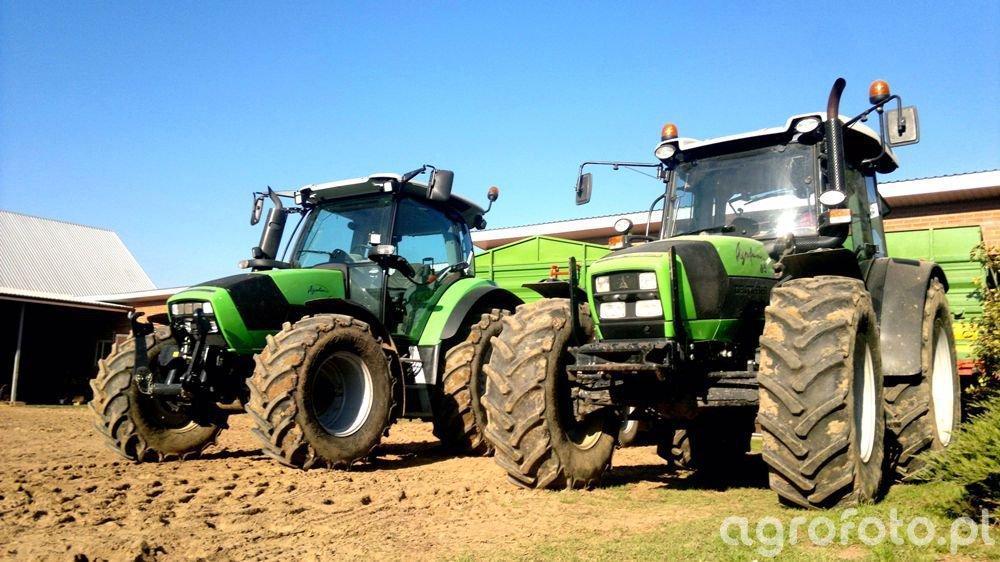 Deutz-Fahr Agrotron K420 & Agrofarm 85