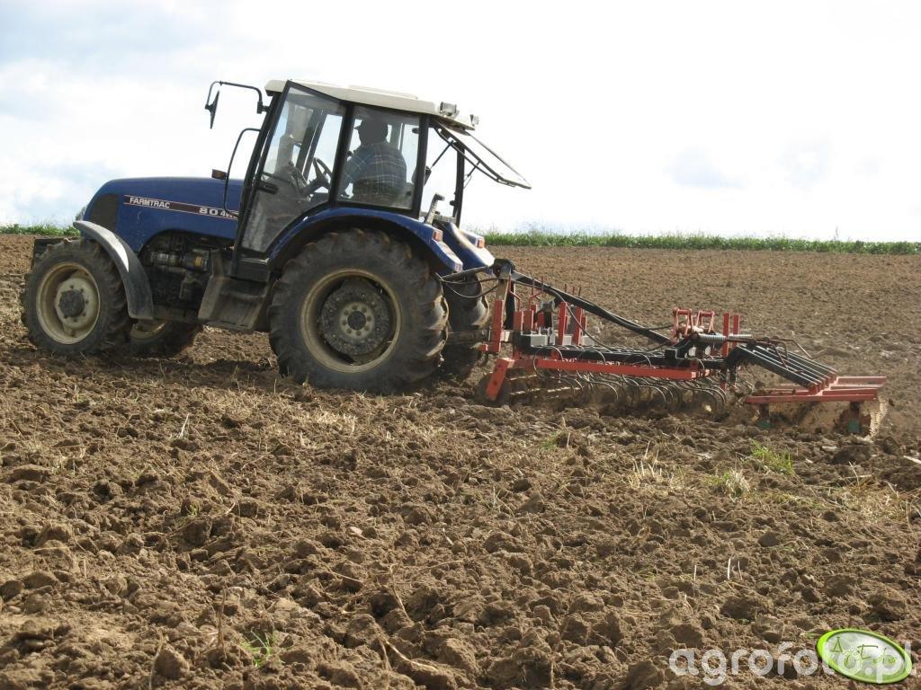 Farmtrac 80 4WD + agregat 3.6m