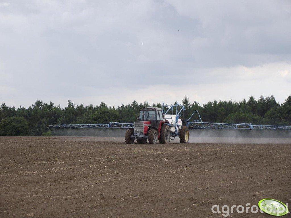 MF 1134 + Evrard TA2500