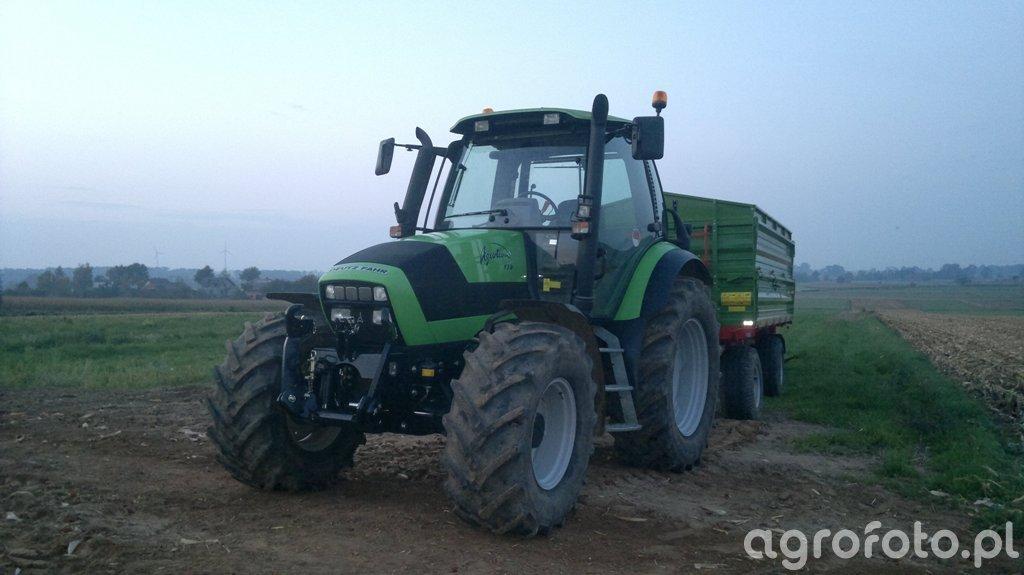 Deutz-Fahr Agrotron 150 & Pronar 12T x2
