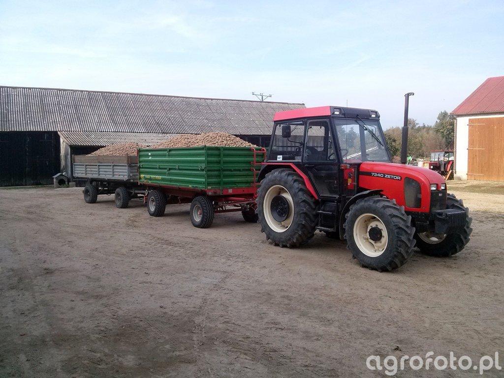 Zetor 7340 & Pronar T653/2