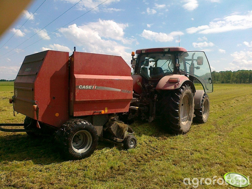 Case Maxxum 140 MC + RB 344R