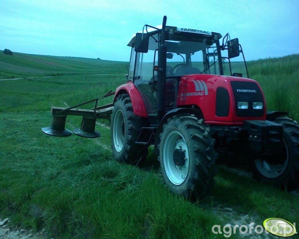 Farmtrac 675DT + Kosiarka