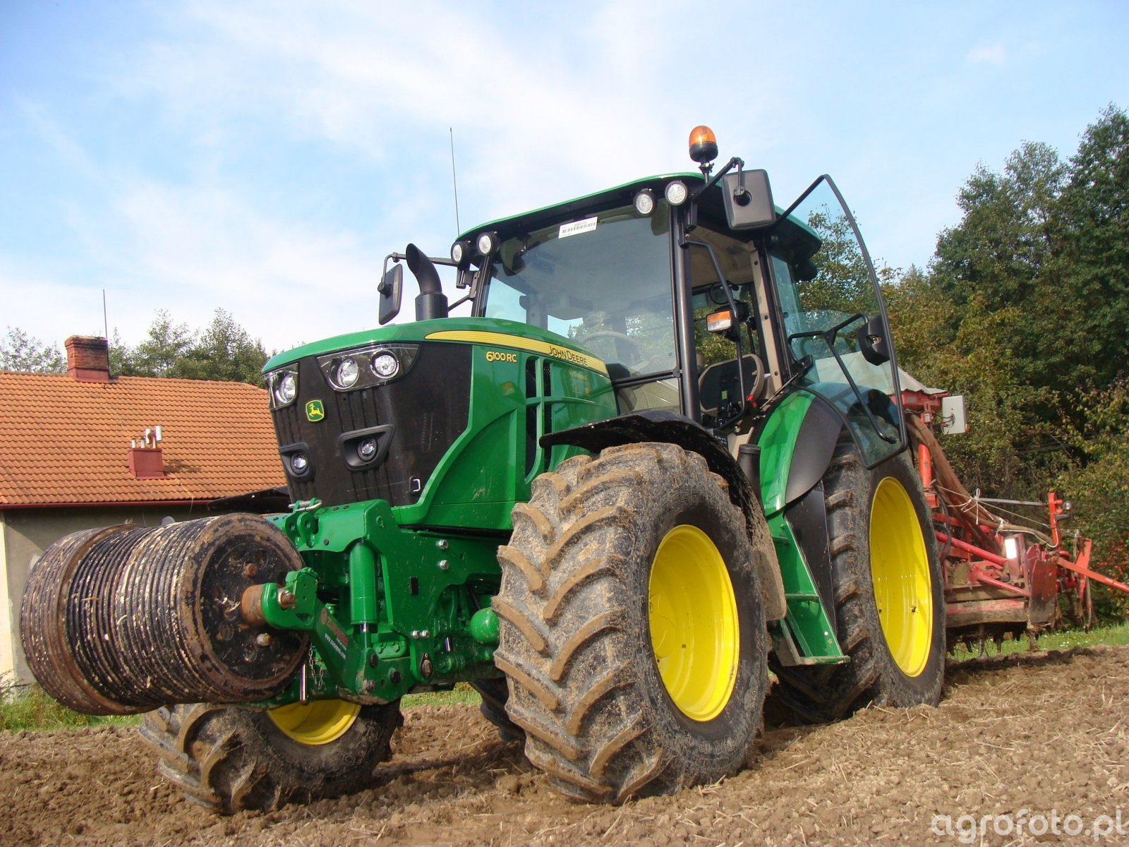 John Deere 100RC + Accord