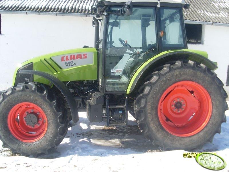 Claas Axion 340