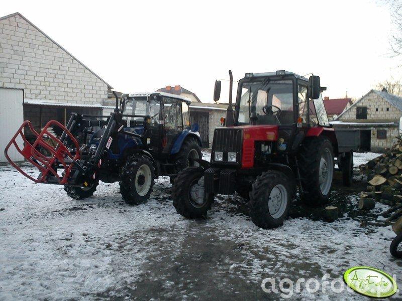 Farmtrac 675DT i Belarus 820