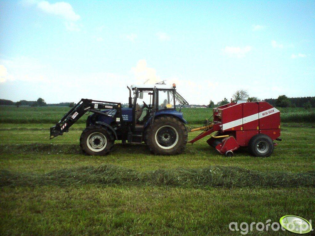 Farmtrac 690DT + MetalFach Z562
