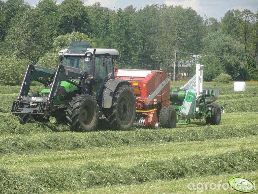 Deutz Fahr Agrofarm 100 + Metal Fach + Sipma Maja
