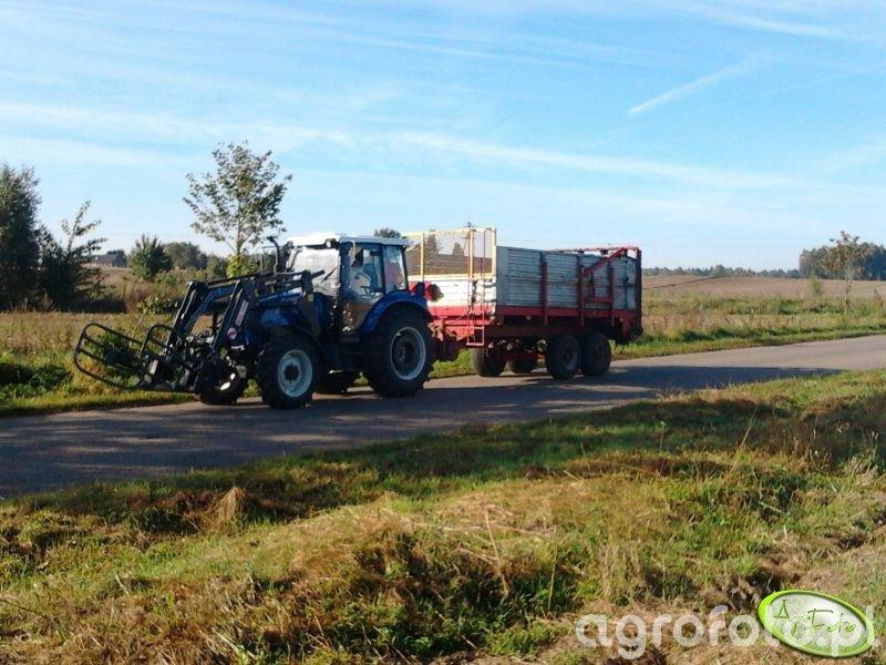 Farmtarc 80 4WD + Rozrzutnik Cynkomet 8t