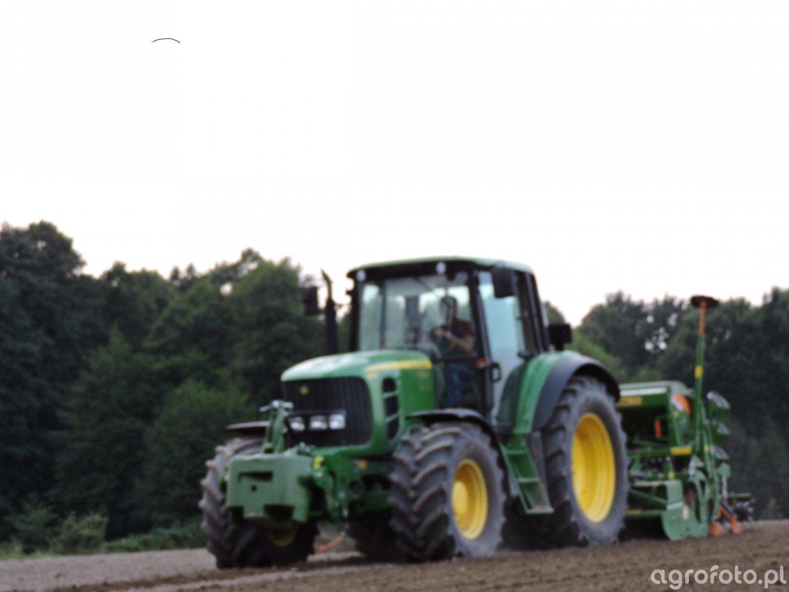 John Deere 6630 & Amazone AD3000