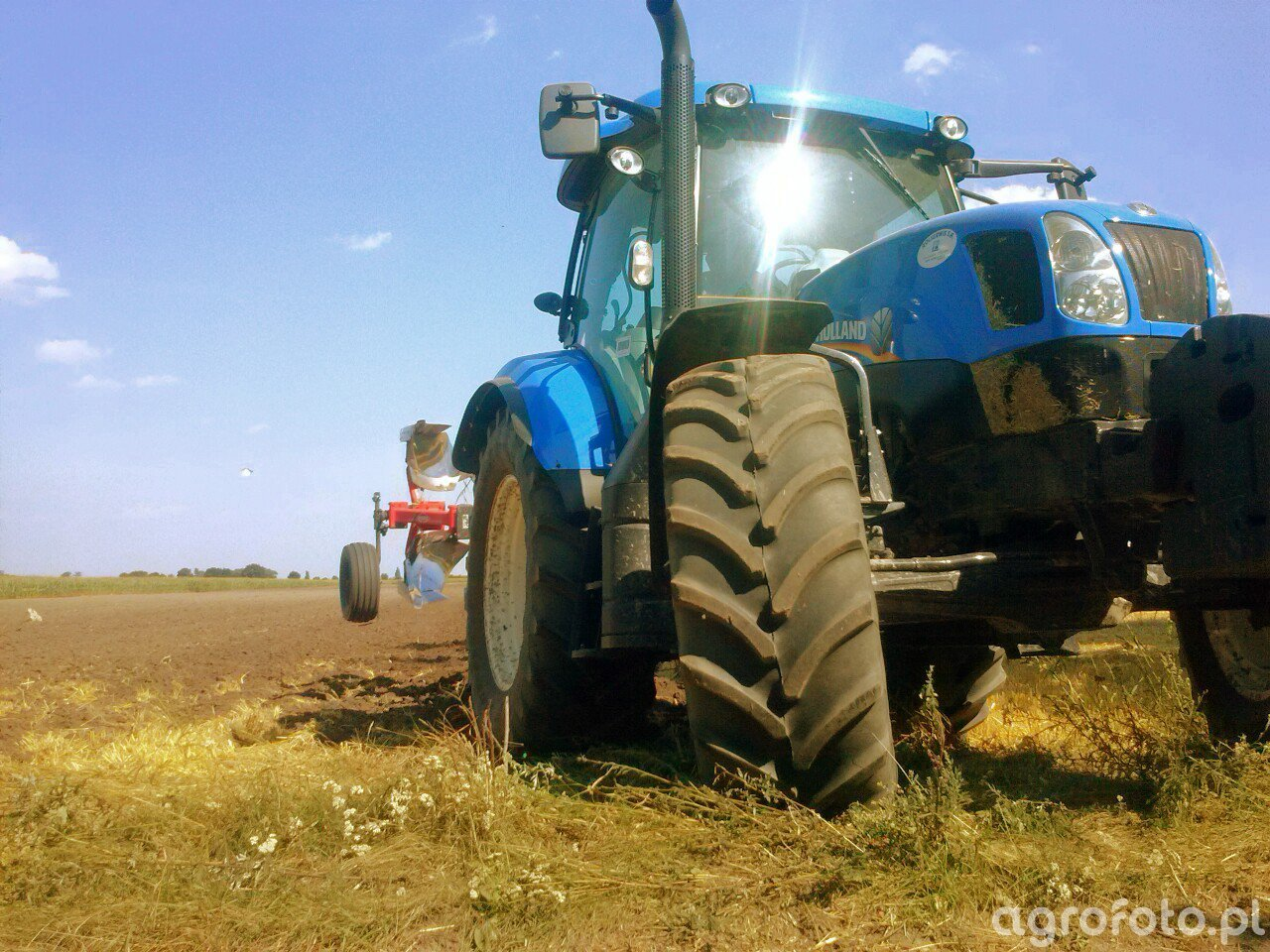 New Holland T6 165