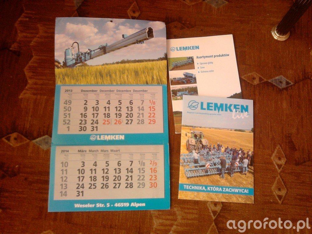 Kalendarz Lemken