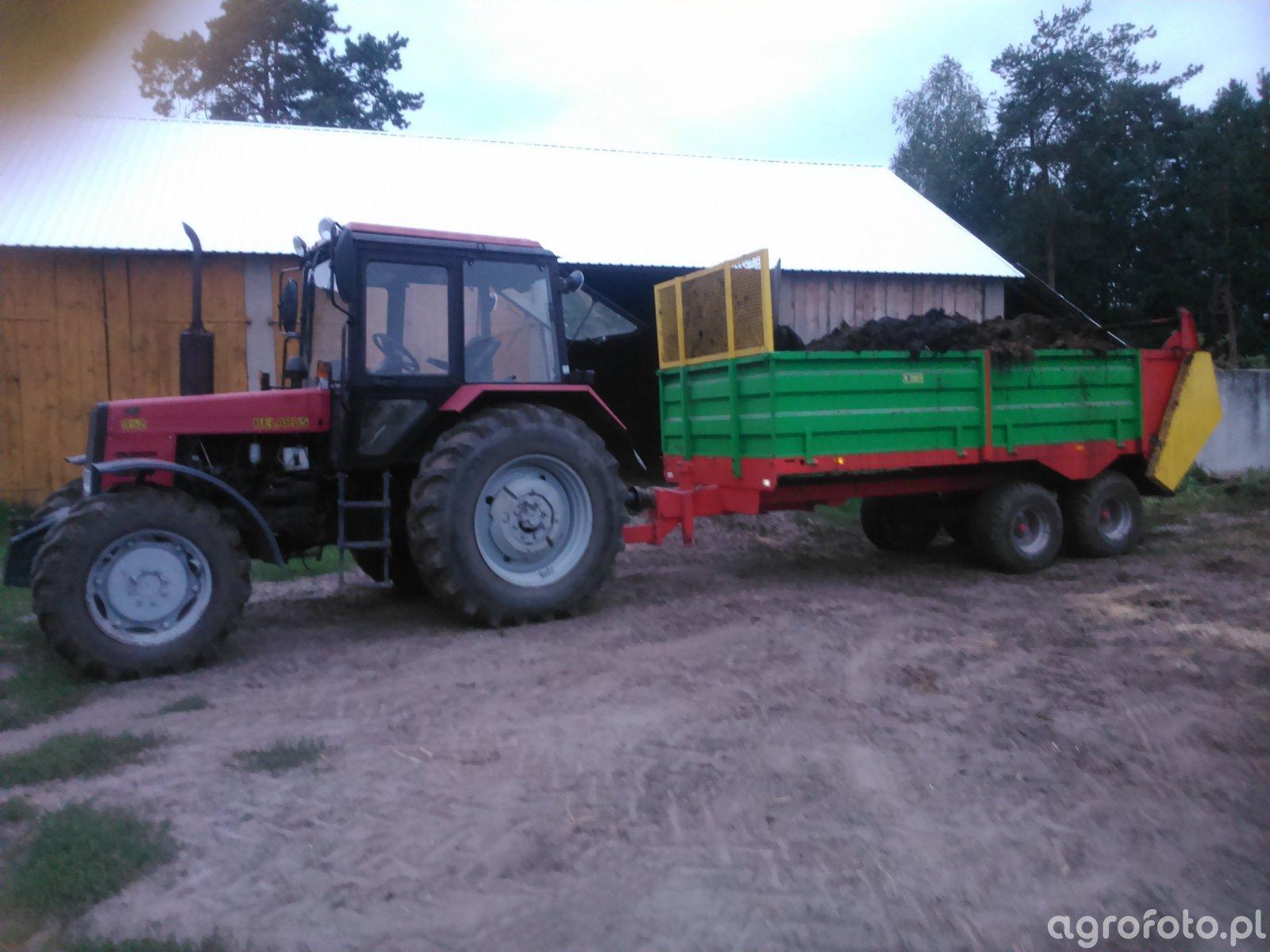 Belarus 952 i Igamet 8T