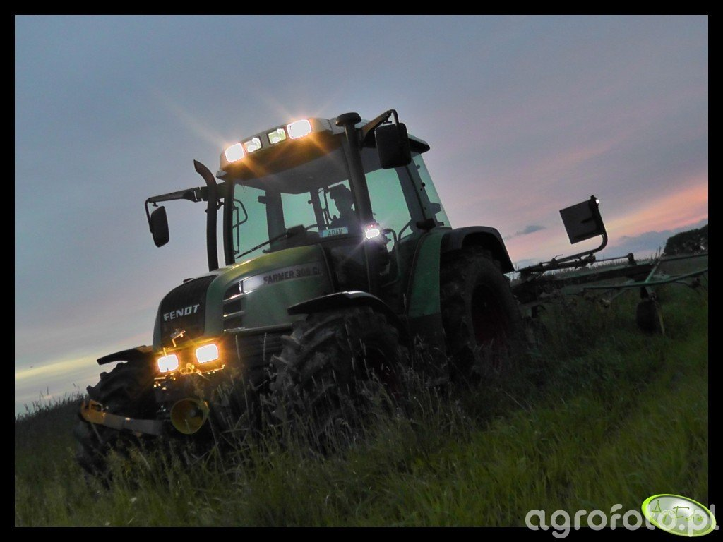 Fendt Farmer 309 Ci + Pronar PWP 530