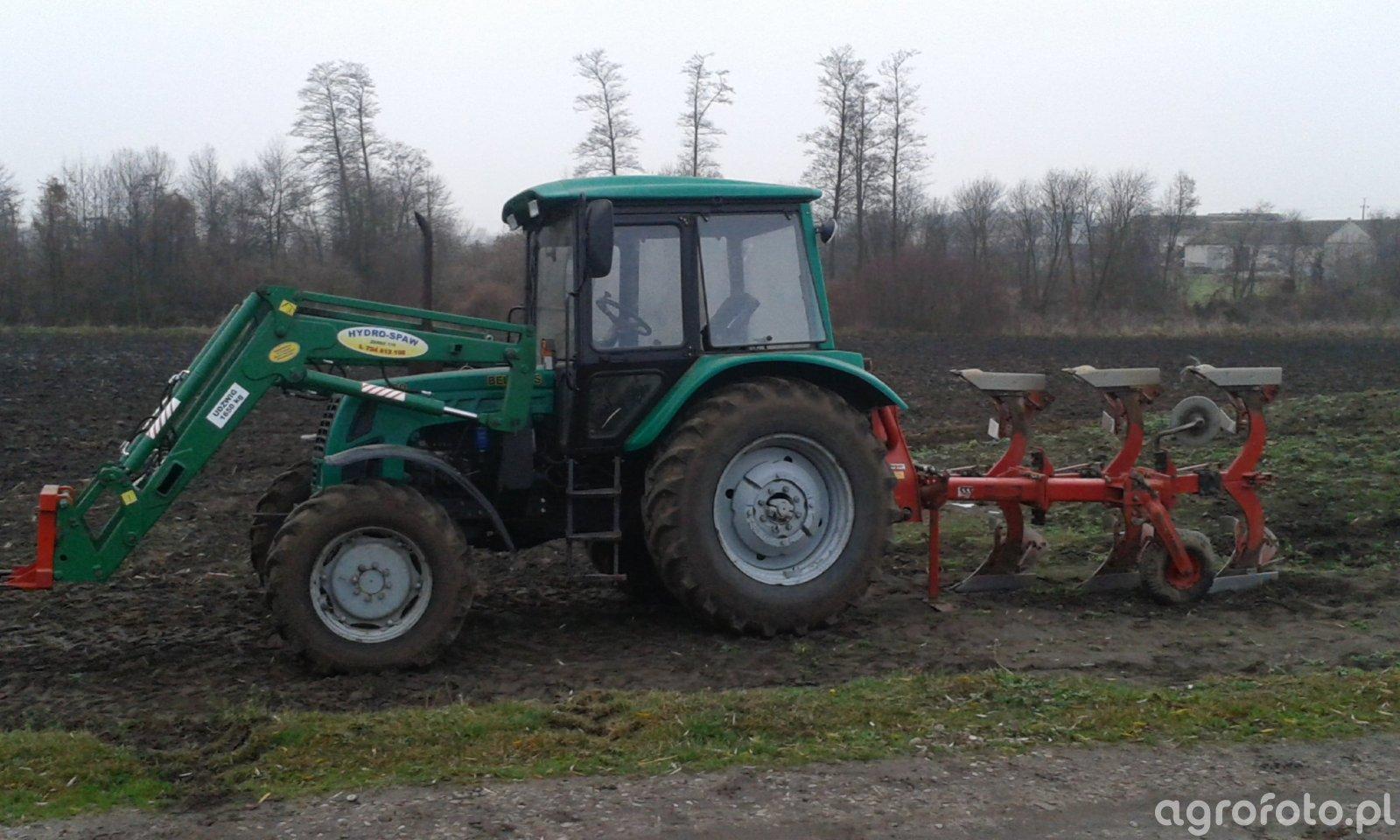 Belarus 920 + kverneland-fraugde 3