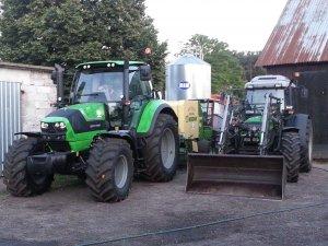 DF Agrotron 6150 oraz Agrofarm 100 GS
