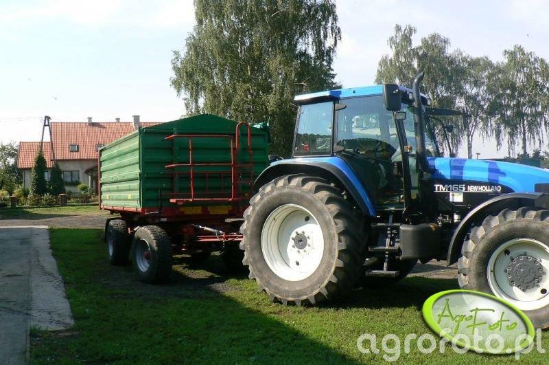 New Holland TM165 + Metaltech