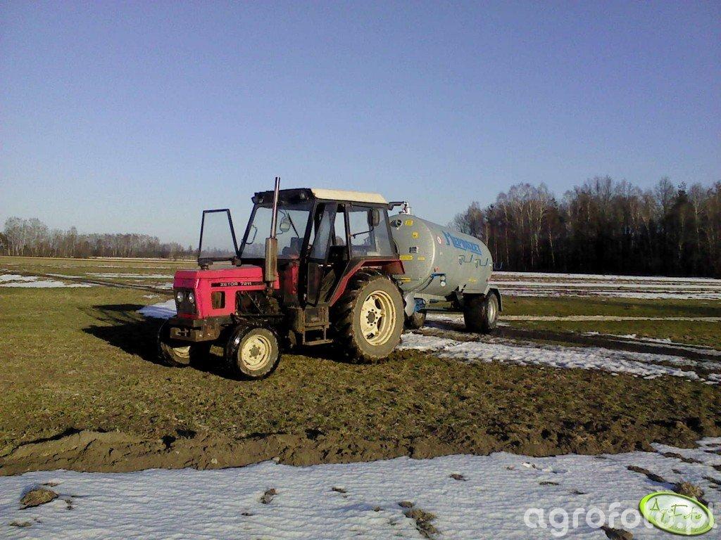 Zetor 7011 + Meprozet Pn-50