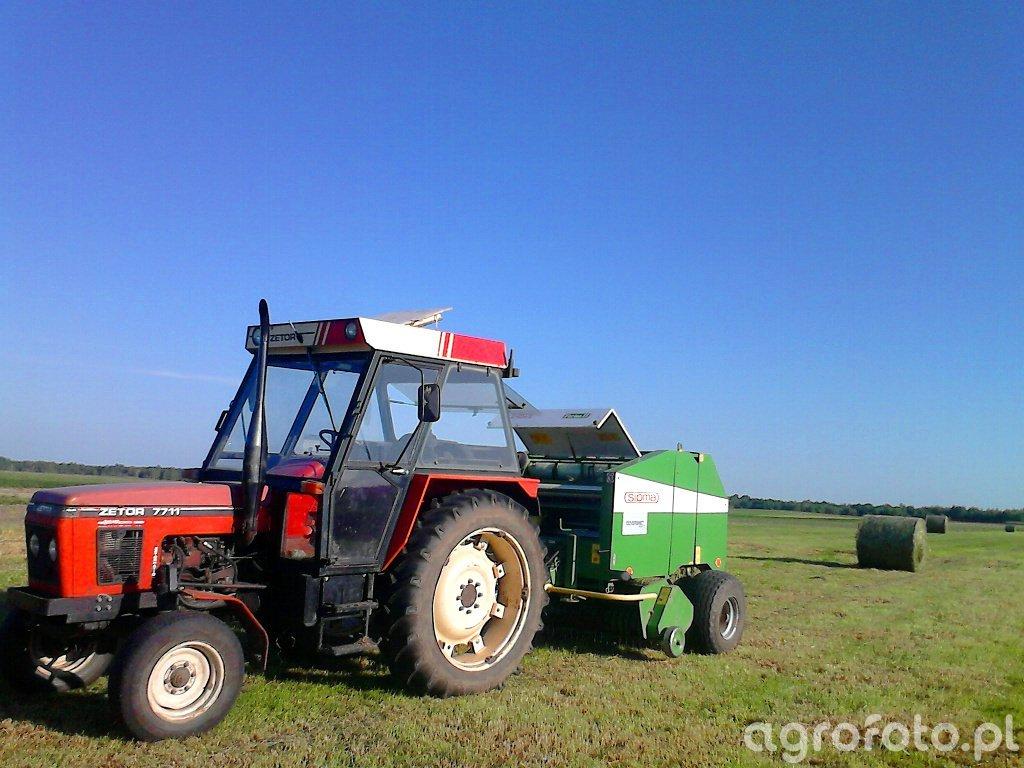 Zetor 7711 +Sipma Z279/1 Farma II