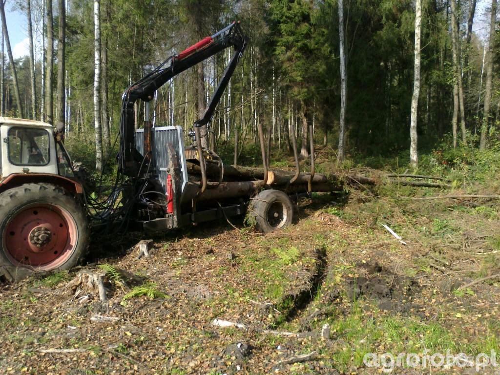 Przyczepa lesna